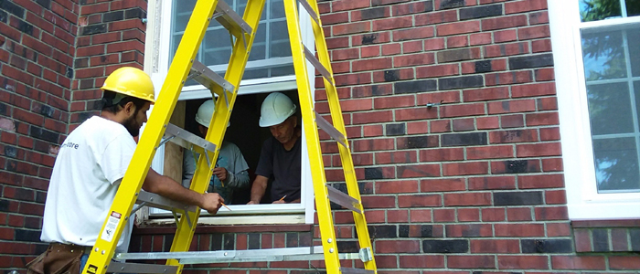 Installation of New Windows at Building 18