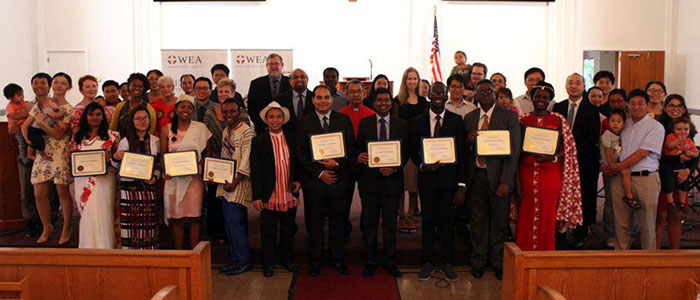 FEL Program Concluded with Certificate Award Ceremony and Closing Service in Immanuel Chapel