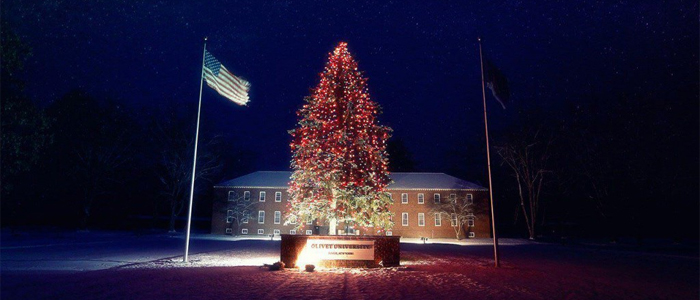 Christmas Tree Lighting in-front of Administration Building