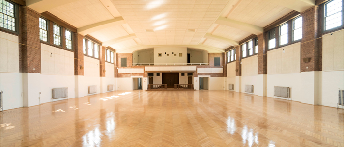 Restored Hard Wood Flooring at Building 35 - Gratia Hall