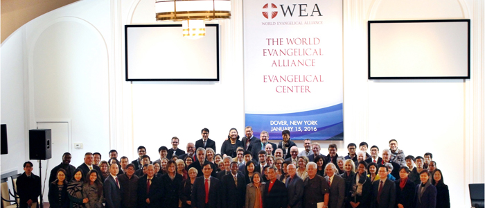 WEA Holds Dedication Service at Immanuel Chapel