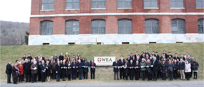 Evangelical Center - Ribbon Cutting with WEA Leaders, Local Residents and Town, County and State Representatives