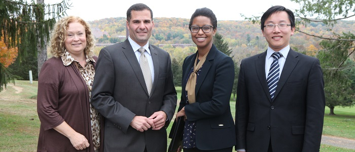 Dutchess County Executive Marcus Molinaro Meets Olivet Representatives at the Campus in Dover