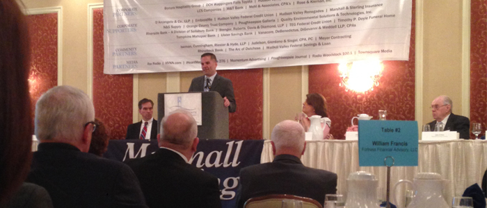 Dover Greens Attends Dutchess County Executive Marc Molinaro's Address on the Economic State of the County
