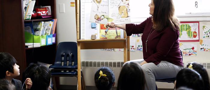 Olivet Academy Kindergarten Class