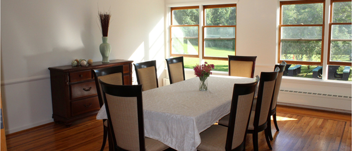 Dinning Room at Bethany House