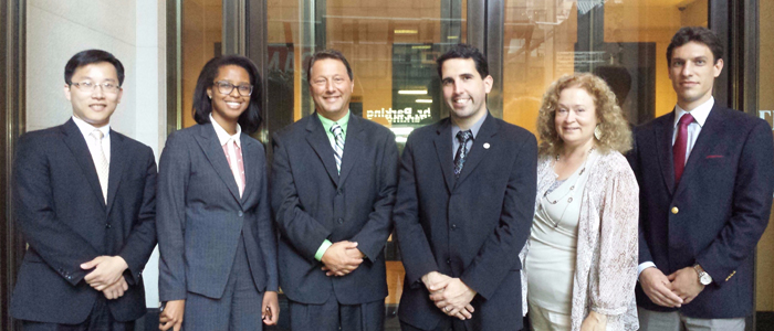 Town of Dover Leadership Visits Olivet's NYC Campus