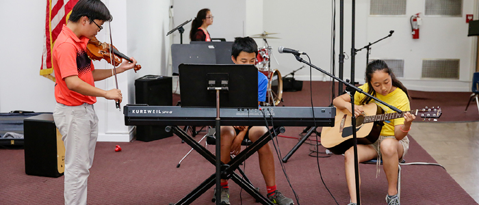 Olivet Academy Music Class
