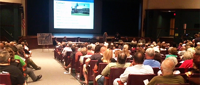 350 Local Residents Gather in Dover High School to Welcome Olivet