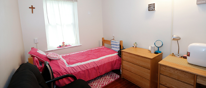 Renovated Dorm Room at Building 11