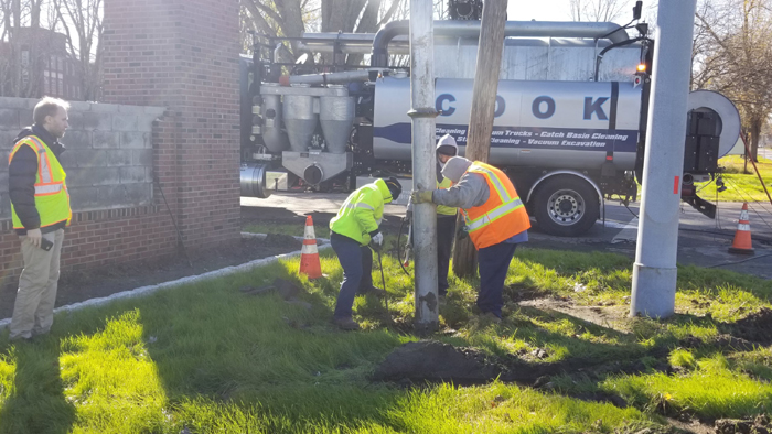 Storm Water Catch Basin and Drainage System Cleanup