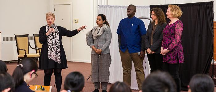 Olivet University Immanuel Chapel Hosts Special Presentation by WEA Human Trafficking Taskforce