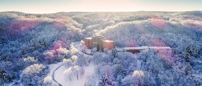 Property Aerial Photo in Winter