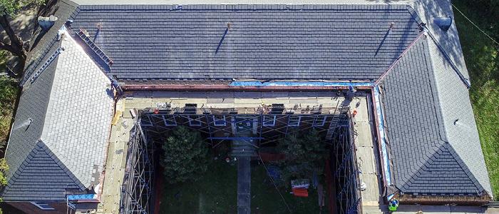 Building 18 Slate Roof Repairs