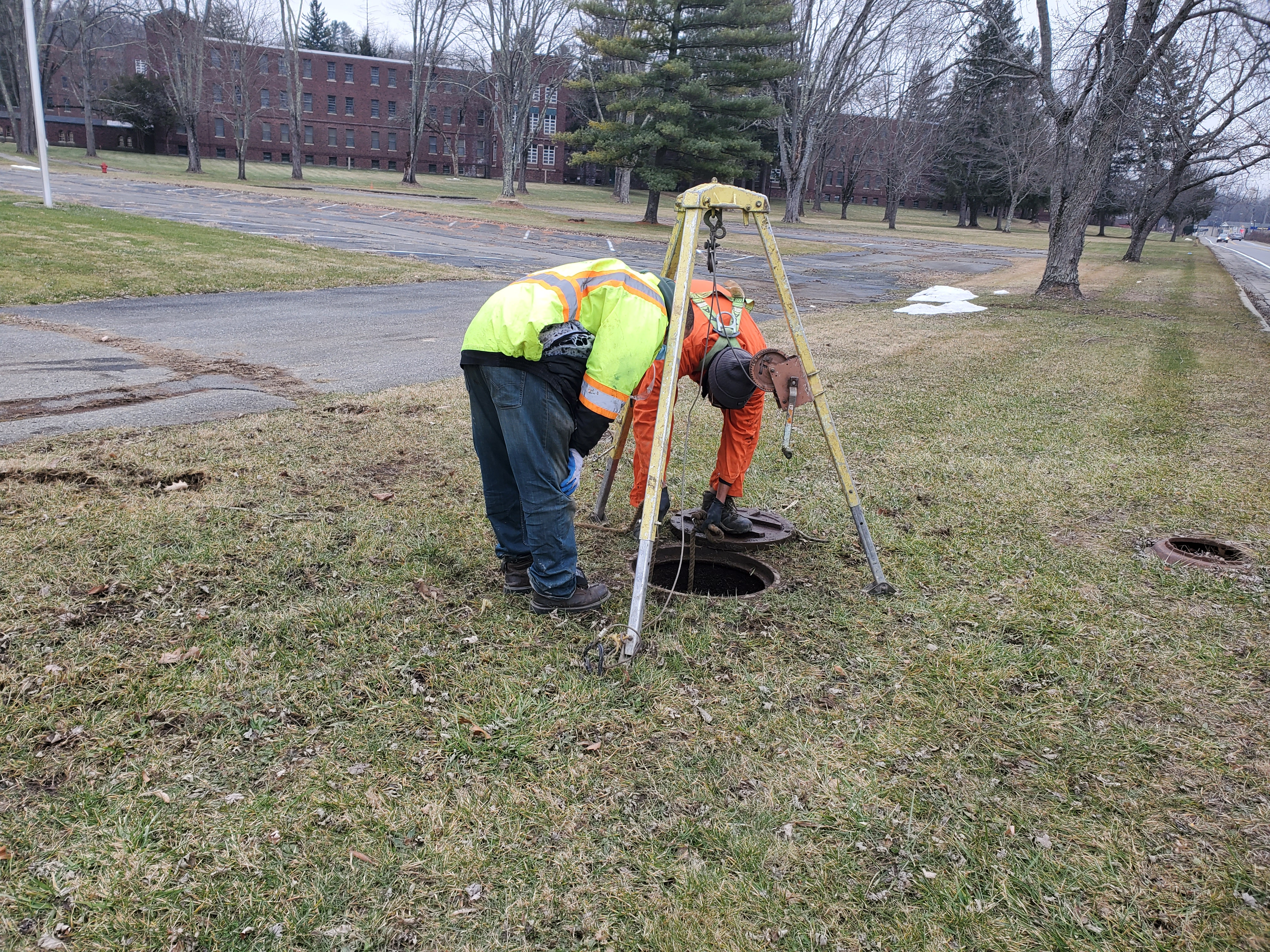 Sewer Lines Cleanout